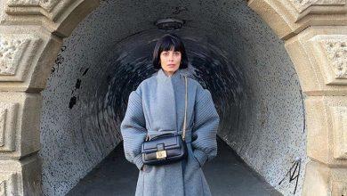 Photo of Alessandra Mastronardi e il cappotto della Fendi